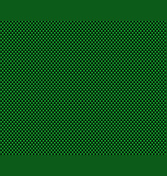 Green black carbon pattern metallic background vector