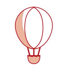 hot air ballon vector image
