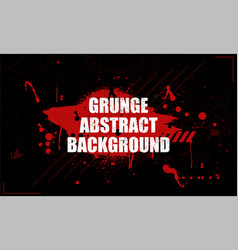 in grunge dirty style vector image