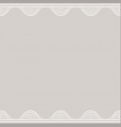 Lacy on canvas seamless abstract lace pattern vector