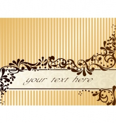 vintage sepia banner horizontal vector image