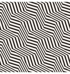ZigZag Edgy Stripes Optical Effect vector