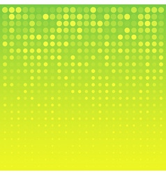 Abstract Bright Yellow Background for your design vector image vector image