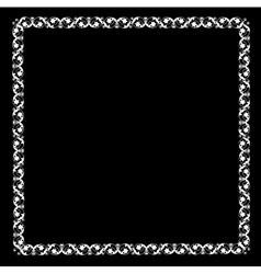 Openwork frame vector image vector image