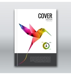 Business design background cover brochure book vector