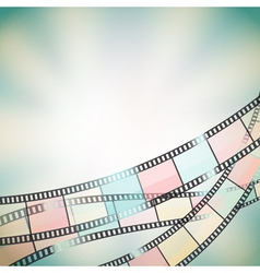film background retro vector image