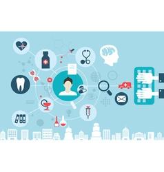medicine 4 vector image vector image