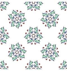Royal Carp fish style seamless pattern vector image vector image