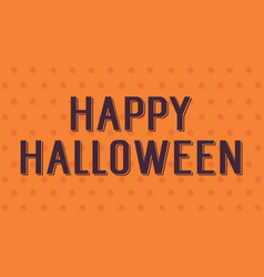 background of halloween style design vector image