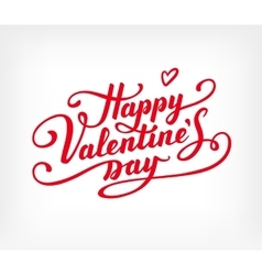 Happy Valentine s Day text vector