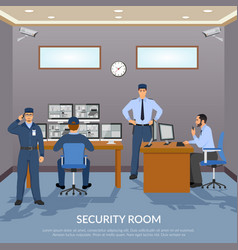 Security room vector