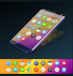 smartphone concept vector image