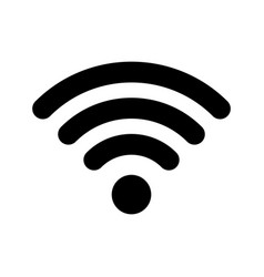 wi-fi internet icon wi fi wlan access wireless vector image