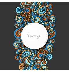 Beautiful card for invitation or announcement vector image vector image