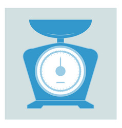 kitchen scales icons vector image vector image