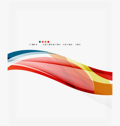 silk wave background vector image vector image
