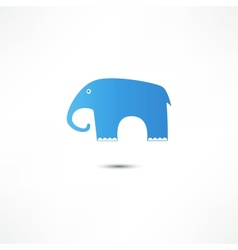 Elephant Icon vector image