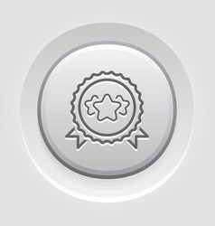 best choice line icon vector image