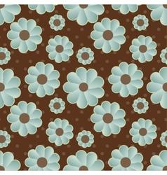 Daisy retro background vector