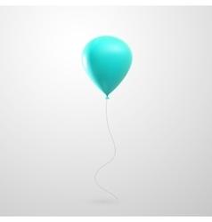 Flying glossy balloon vector