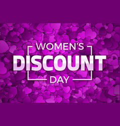 happy womens day discount vector image
