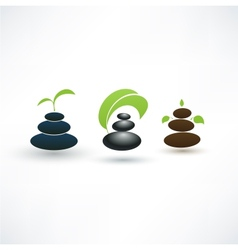 Spa concept icons vector image