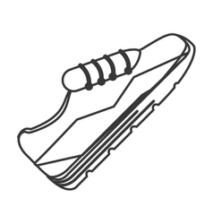 sport sneakers icon vector image