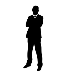 High quality original of a man in a vector image vector image