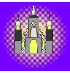 Montreal pop art vector image vector image