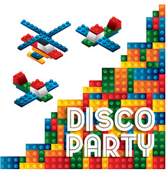 Advertising icon Party and Celebration vector image