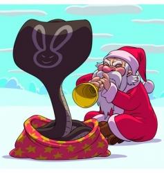 fakir Santa claus vector image vector image