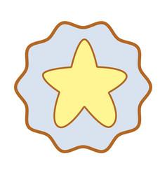 Symbol cuite light star image vector