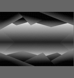 black and white dimension picture background vector image