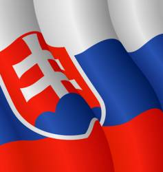 Flag of Slovakia vector