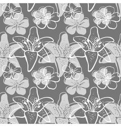 FlowersBackground5 vector image