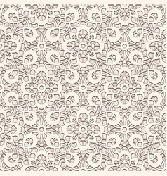 Old lace texture seamless pattern vector