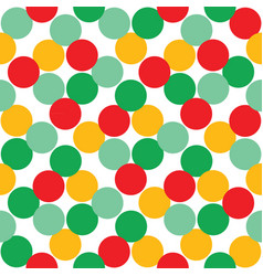 seamless background with multi-colored balls vector image