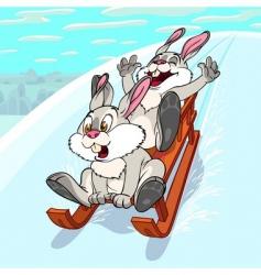 Sliding rabbits vector
