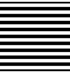 Striped seamless pattern black white thin vector