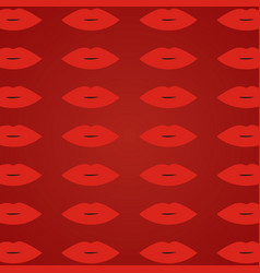 woman lips red background red open lips pattern vector image vector image
