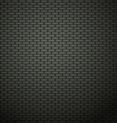 Dark brick wall background vector image vector image