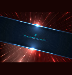 Abstract technology futuristic digital concept vector