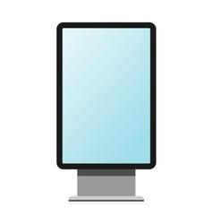 Advertisement billboard vector image vector image