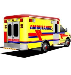 al 0931 ambulance vector image