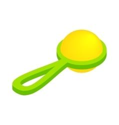 Baby beanbag isometric 3d icon vector