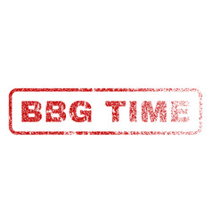Bbg time rubber stamp vector