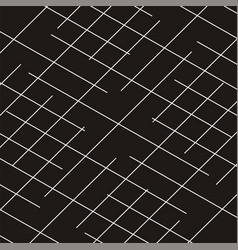 diagonal striped geometric black background vector image
