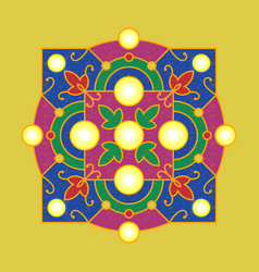 diwali deepavali hindu festival 7 november vector image