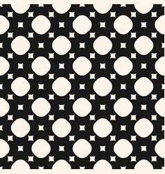 simple geometric monochrome seamless pattern with vector image