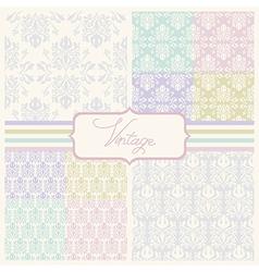 wedding patterns vector image